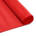 Бумага гофр. (Италия) 180 г/м2  ZA (0,5*2,5 м ) 017/А6 красный