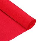 Бумага гофр. (Италия) 180 г/м2  ZA (0,5*2,5 м ) 580 красный