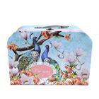 Коробка подарочная чемодан «Павлины» 3613899 32*23*12,5 см