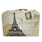 Коробка подарочная чемодан «Париж» 2489236 33*22*10см