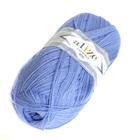 Пряжа Лана голд 800 (LanaGold ) 100 г / 800 м, 040 голубой