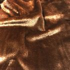 Мех короткий ворс 3-5 мм 100% п/э 50*50 см М-1109 т.коричневый