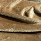 Мех короткий ворс 3-5 мм 100% п/э 50*50 см М-1405 песочный