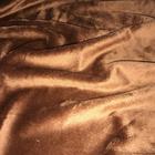 Мех короткий ворс 3-5 мм 100% п/э 50*50 см М-1453 коричневый