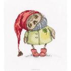 Набор для вышивания РТО C227 «Зимняя прогулка» 15*16 см
