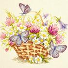 Набор для вышивания Чудесная Игла №40-80 «Летнее настроение» 20*17 см