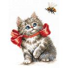 Набор для вышивания Чудесная Игла №58-10 «Неподдельный интерес» 18*26 см