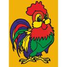 Набор для раскрашивания Цветной хамелеон MA1006 «Петушок»