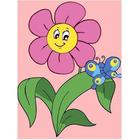Набор для раскрашивания Цветной хамелеон MA1027 «Цветочек»