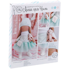 Набор текстильная игрушка АртУзор «Мягкая кукла Кристи» 2278759