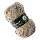 Пряжа Гармония (Harmony Vita), 100 г / 110 м,  6304 серо-бежевый ИМ