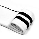 Подвяз трикотажный п/э SD.208  белый с черными полосами 16*90 см