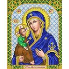 Рисунок для вышивания бисером Благовест  И-5021 Пр.Богородица Иерусалимская 13,5*17см