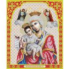 Рисунок для вышивания бисером Благовест И-4005 Пресв. Богородица Достойно есть 20*25 см