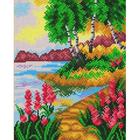 Рисунок для вышивания бисером Благовест 20*25 см К-4041 Лето
