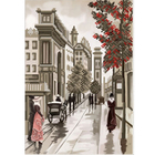Рисунок для вышивания бисером Благовест К-4051 Улочки Диптих 1 20*25 см