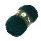 Пряжа Гармония (Harmony Vita), 100 г / 110 м,  6320 зелёный