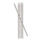 Спицы носочные Knit Pro  Nova Metal  2 мм/ 10 см 10125 никелированная латунь