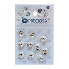 Стразы Crystal SS39 конусовидные «Риволи» Preciosa (уп.10 шт.) 3,8 мм  436-11-177