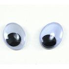 Глаза MEO «овал» с бегающими зрачками 12*10 мм