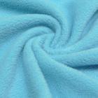 Трикотаж Флис 26207  (50*56 см) св.голубой