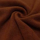 Трикотаж Флис 27062  (50*56 см) коричнево-рыжий