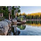 Алмазная мозаика АЖ-1497 «Озеро в Карелии» 50*70 см