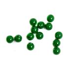 Бусины пластм.  8 мм (уп. 10 г) 012 зеленый