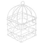 Декор SCB271003 Металл Клетка с квадратным дном 6*6*10 см