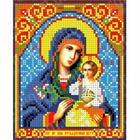Рисунок для вышивания бисером Каролинка КБИ-5073  «Неувядаемый цвет» 12,5*16 см