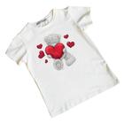 Термонаклейка декор текстильных изделий 3483261 «Сердце» 502680