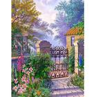 Алмазная мозаика АЖ-1329 «Калитка в саду»