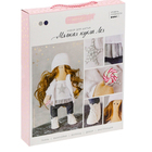 Набор текстильная игрушка АртУзор «Мягкая кукла Лея» 503148