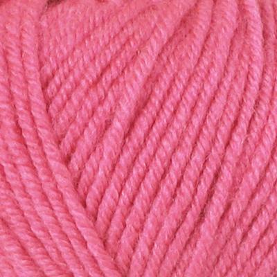 Пряжа Бэби Джой (Baby Joy) 50гр./133м  5716 я. розовый в интернет-магазине Швейпрофи.рф
