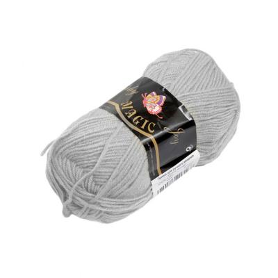 Пряжа Бэби Джой (Baby Joy) 50гр./133м  5723 св. серый в интернет-магазине Швейпрофи.рф