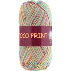 Пряжа Коко принт,(Coco Vita Print) 50 г / 240 м 4680 радуга