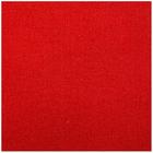 Ткань 50*80 см однотонная 23617 красный  100% п/э 501329