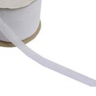 Кромка нитепрошивная по косой усилен. 12 мм 9523 (рул. 142 м) белый