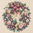 Набор для вышивания Dimensions 03837 «Венок из роз» 41*41 см