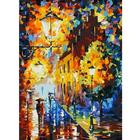 Набор для раскрашивания Белоснежка AS028 «Огни в ночи»