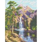 Рисунок на канве Каролинка КК-006 «Горный водопад»