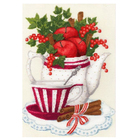 Набор для вышивания Золотое руно СЖ-054 «Яблоки и корица» 28*38,5 см
