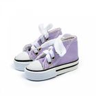 Обувь для игрушек (Кеды) КЛ.25778  7,5 см  выс. 4см сиреневый (1 пара)