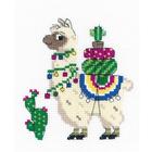 Набор для вышивания Риолис №1787 «Лама» 15*18 см