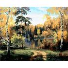 Набор для раскрашивания Hobruk HS0199 «Ясный лес» 40*50 см
