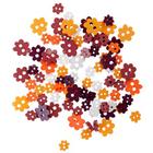 Пуговицы набор «Цветочки» I-1435-38  (Ассорти 003) 7711124