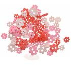 Пуговицы набор «Цветочки» I-1435-38  (Ассорти 018) 7711124