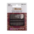 Иглы ручные Micron KSM-1012 (уп. 25 шт)