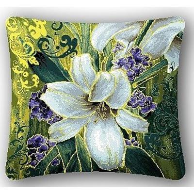 Гобелен наволочка 50х35 4742 «Абрис лилия» в интернет-магазине Швейпрофи.рф