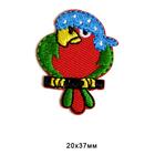 Термоаппликация BA1032 «Попугай-пират» 7718115